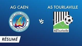 R1 J10 : AG Caen - AS Tourlaville (temps forts)