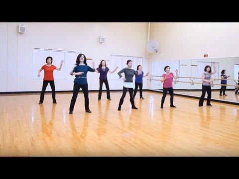 Genetics - Line Dance (Dance & Walk Thru With Counts)