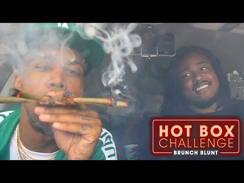 The Five Finger Discount Challenge Ft. Precious Hall & Loodyboy  | Hot Box Challenge