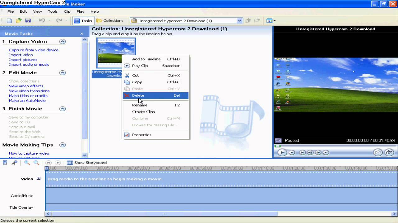 Opinions about Windows Movie Maker