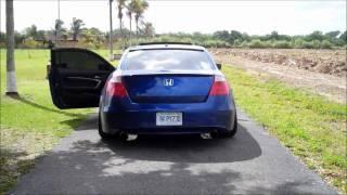 2010 Honda Accord v6 Magnaflow CBE No resonator w/RV6 J-pipe Video
