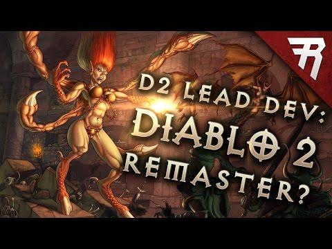 REVEALED: StarCraft Remaster; Diablo 2 Remaster Next? D2 Lead Dev David Brevik