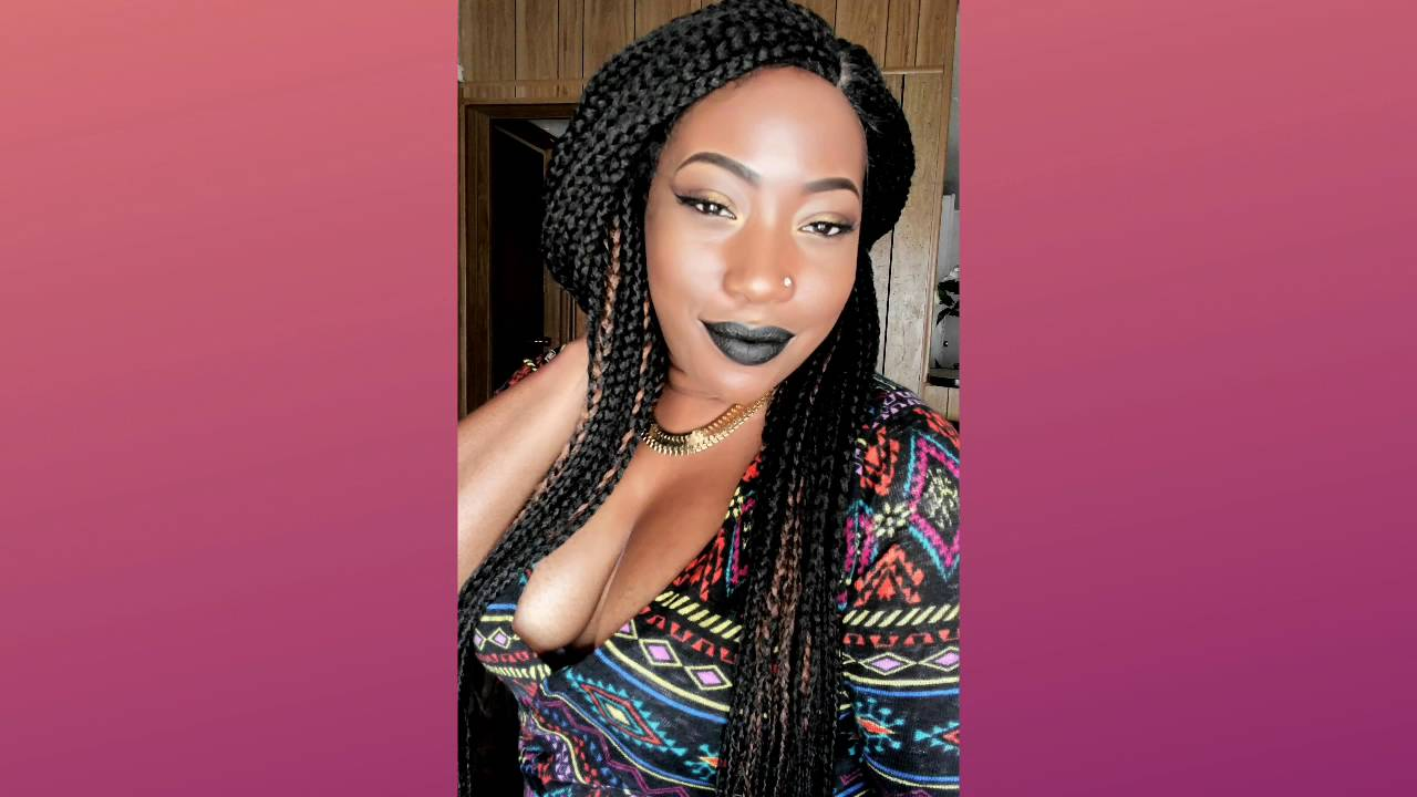 How to Style a Braided Wig ft. ZURY SIS LACE