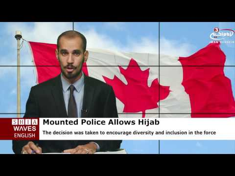 Royal Canadian Mounted Police allows Muslim officers to wear hijab.2016/08/25