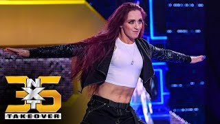 Kay Lee Ray stares down Raquel Gonzalez: NXT TakeOver 36 (WWE Network Exclusive)