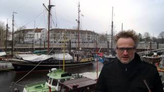 With old Royal Yacht ... in old whaling harbor