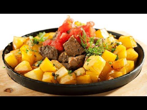 Жареная картошка особым способом