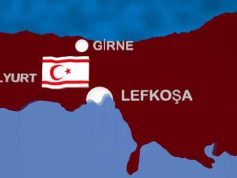 KKTC Haritası