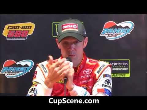 NASCAR at Phoenix Raceway, Nov. 2017: Matt Kenseth post race