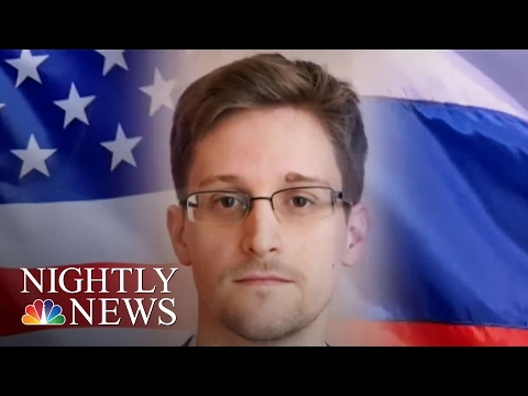 Russia Considering Edward Snowden As 'Gift' To President Trump (Exclusive) | NBC Nightly News