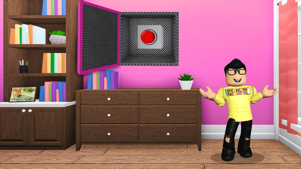 If Baby Hyper Finds The BUTTON, He Wins The GRAND PRIZE! (Roblox Bloxburg)