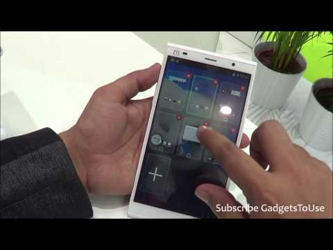 ZTE Grand Memo 2 Hands on, Quick Review, Camera, Features and Overview HD at MWC 2014