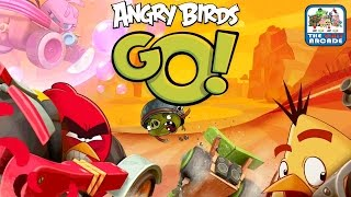 Angry Birds Go! - Welcome To Downhill Racing On Piggy Island Ios/ipad Gameplay