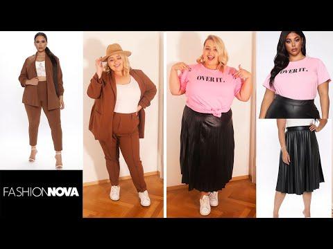 Ожидание vs Реальность Fashion Nova Curve || 4 идеи образов для пышек на осень