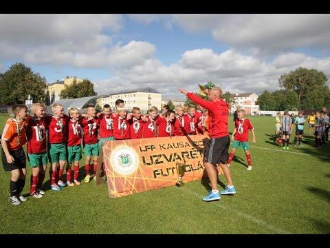 FK Liepāja U-12 vecuma komandai uzvara LFF kausa izcīņas turnīrā