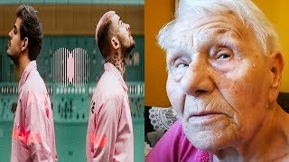 Reakcja babci TACONAFIDE - TAMAGOTCHI - babcia hejtuje