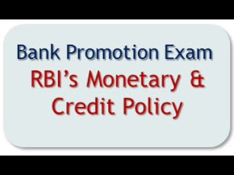 Bank Promn Exam -  VIDEO LESSON on Credit Policy