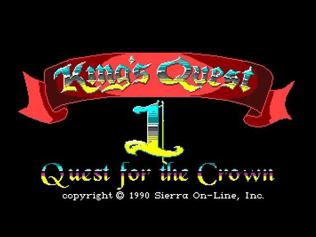Amiga 500 Longplay [021] King's Quest I: Quest For The Crown (Enhanced)
