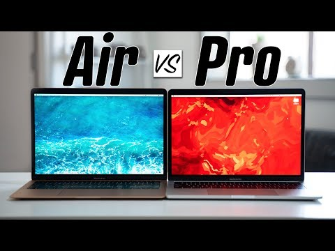 2019 MacBook Air vs 2019 MacBook Pro - Full Comparison