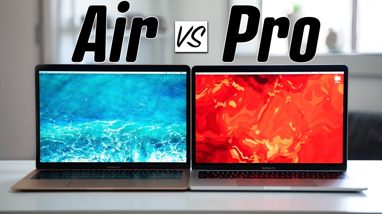 2019 MacBook Air vs 2019 MacBook Pro - Full Comparison ...