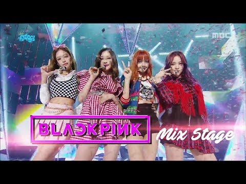 BLACKPINK - 마지막처럼(As if it's your last) 교차편집(Stage Mix) [60fps]