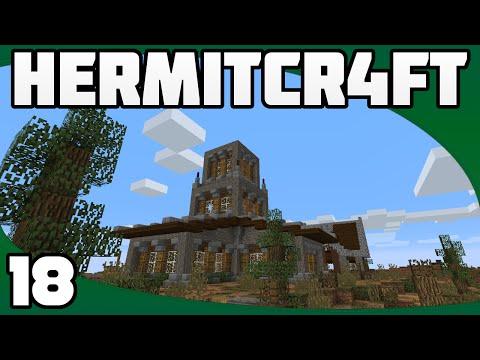 Hermitcraft 4 - Ep. 18: Tower & Spiral...
