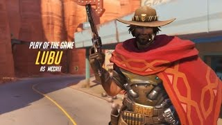 Overwatch - Random Hero Mode Lu Bu as Mad Dog McCree PENTAKILL