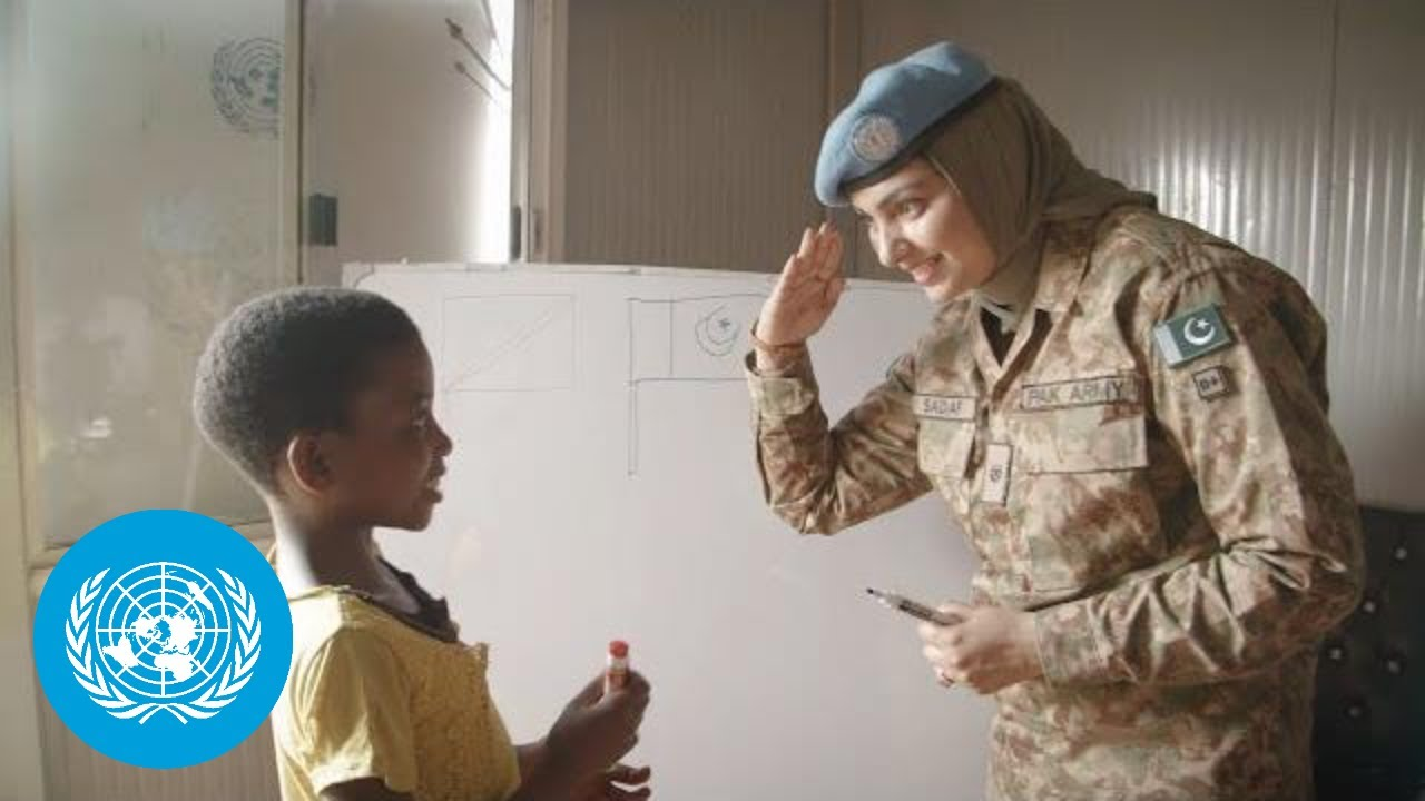 Fighting trauma – Female Peacekeepers in Africa