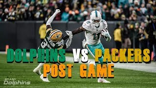 Miami Dolphins Vs Green Bay Packers Post Game/ Osweiler Needs To Go!