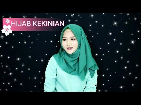 Tutorial Hijab Segiempat Simple dan Kekinian dari Hijab Saudia | Amalia Kurnia