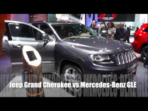 Jeep Grand Cherokee 2016 vs Mercedes-Benz GLE 2016