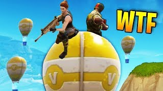 SUPPLY DROP RIDING! | Fortnite Best Stream Moments #9 (Battle Royale)