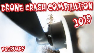 Drone Fail 2019 Compilation Crash Inspire 1, Mavic 2 Zoom, Autel, Phantom 4