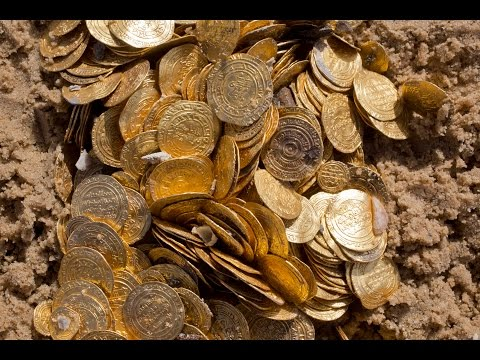 Divers Find Thousands Of Ancient Gold Coins In Israel