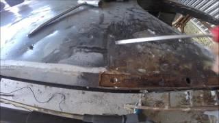 réparation du chassie de la 2cv