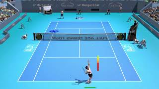 Full Ace Tennis Simulator 2017 - 4 Aces In A Row