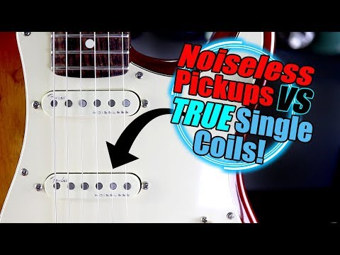 FENDER Noiseless Pickups Vs Single Coils! - Can You Hear The Difference?