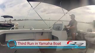 Yamaha VS ETec   on a Quintrex Renegade   Caloundra Marine Australia's best Quintrex pricing