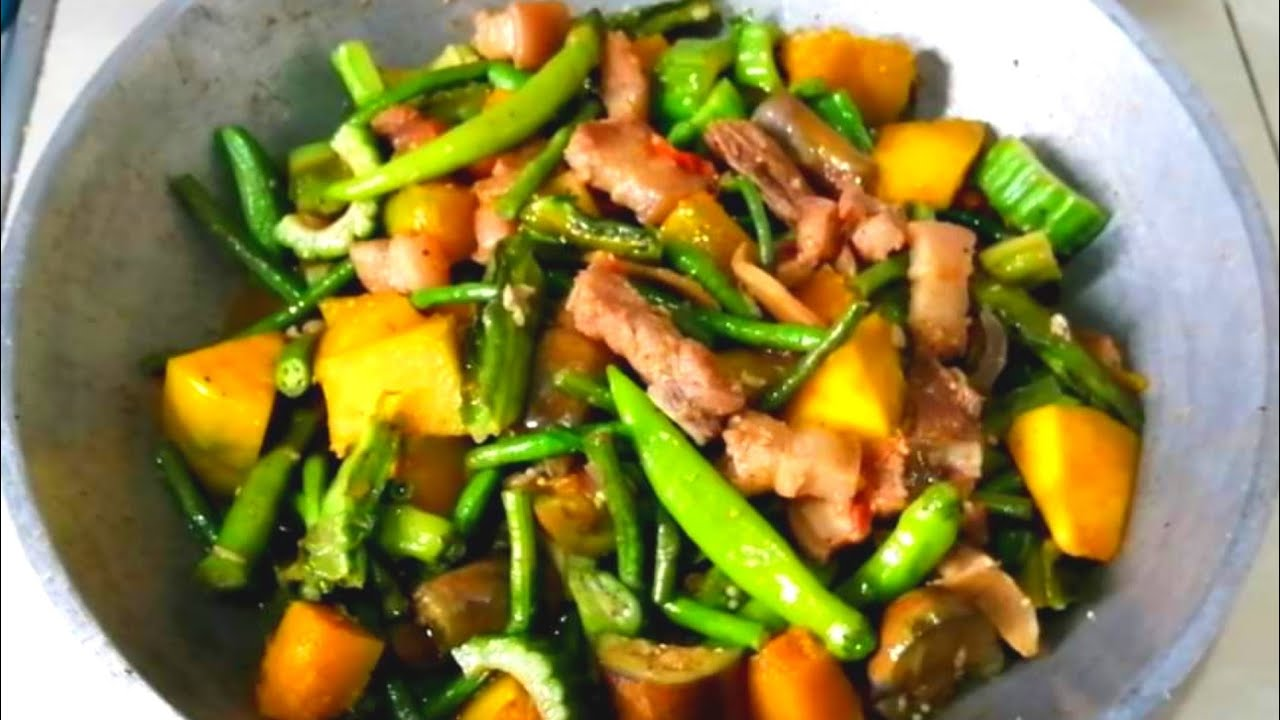 Pinakbet Pakbet Pork Recipe My Version Of Pinakbet Youtube