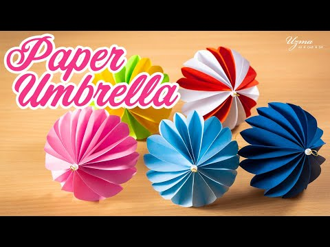 Paper Umbrella Making Tutorial | Cute and Easy DIY Umbrella
