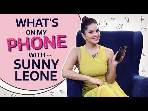 sunny-leone:-what's-on-my-phone-|-pinkvilla-|-bollywood-|-lifestyle