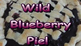 Wild Blueberry Pie!