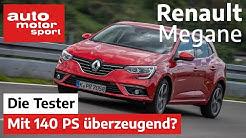 Renault Megane: Kann er mit 140 PS überzeugen? - Test/Review | auto motor und sport