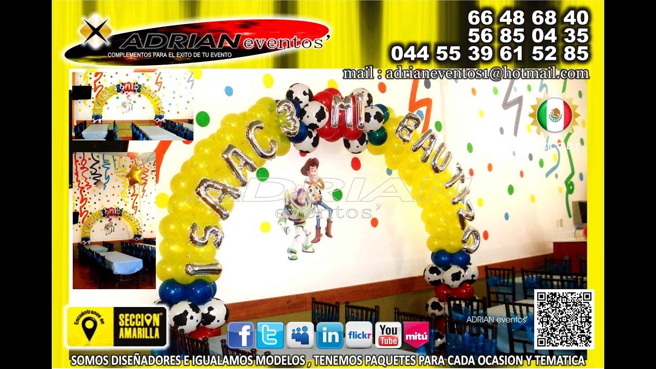 Decoracion Con Globos Para Fiestas Infantiles Imagui