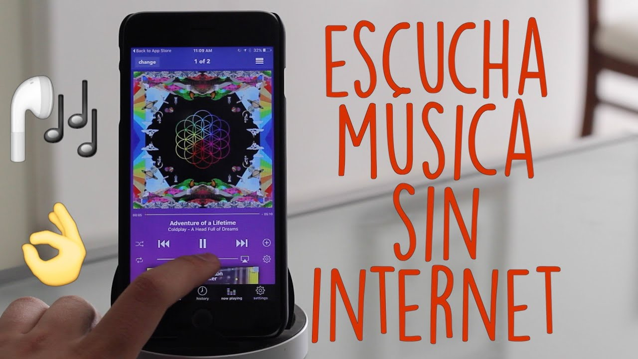 APP DE MUSICA PARA IPHONE GRATIS SIN INTERNET