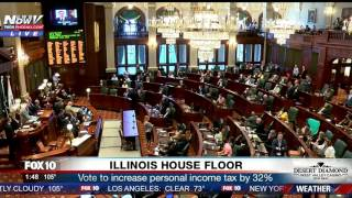 BREAKING: Illinois Budget Passes With A 32% Increase Of Personal Income Tax (FNN)