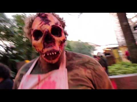 Meat Market scare zone at Howl-O-Scream 2017, Busch Gardens Tampa