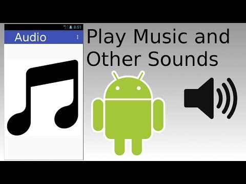 Android Studio - Play Music and Audio Sounds