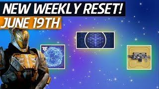Destiny 2 - New Weekly Reset! Iron Banner Returns, Raid Reset, Eververse Items & More (19th June)