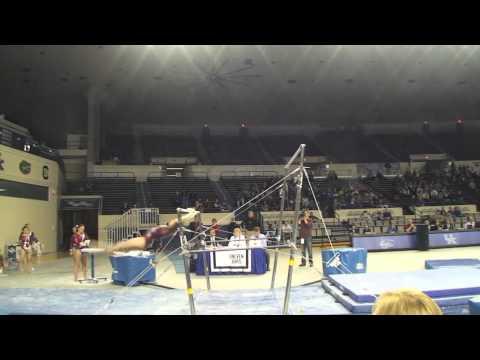 Alabama Gymnastics: Becca Alexin on the Uneven Bars at Kentucky